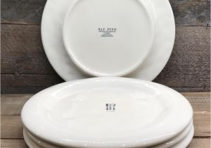 Rae Dunn Christmas Dinner Plates New Rae Dunn Quot Dine Quot Icon Dinner Plates Set Of 4