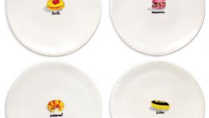 Rae Dunn Christmas Dinner Plates Rae Dunn French Dessert Plates Set Of 4 Dinner Plates