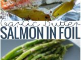 Recetas De Salmon Faciles Garlic butter Baked Salmon In Foil Receta Recipe Board