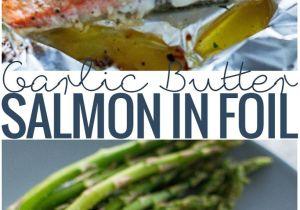 Recetas De Salmon Faciles Garlic butter Baked Salmon In Foil Receta Recipe Board