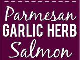 Recetas De Salmon Faciles Y Rapidas Parmesan Garlic Herb Salmon Recipe Receta De Cena Familiar Rapida