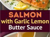 Recetas De Salmon Faciles Y Rapidas Skillet Seared Salmon with Garlic Lemon butter Sauce Cooking