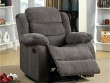 Recliner Chairs Under 100 Dollars Amazon Com Furniture Of America Blake Chenille Recliner Chair Gray