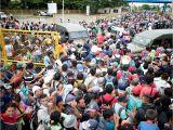 Red River New Mexico October events Chaos Erupts as Caravan Reaches Mexico Border Cnn
