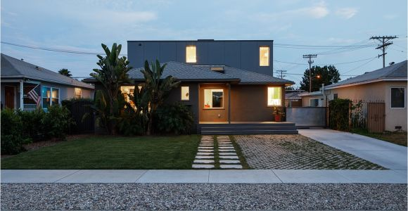 Residential Architects Los Angeles Ca Mar Vista House Addition and Renovation Architect Magazine