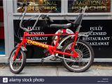 Restaurant Supply Store Raleigh Raleigh Chopper Bicycle Stockfotos Raleigh Chopper Bicycle Bilder