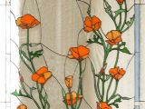 Retail Stained Glass Supplies Denver California Poppies Stained Glass Wonders Pinte