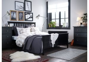 Review Of Ikea Memory Foam Mattress Hemnes Bed Frame Queen Black Brown Ikea