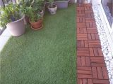 Review Of Ikea Runnen Decking Balcony with Artificial Grass Decking and Plants Balconies In