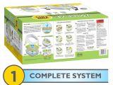 Reviews On Breeze Litter Box Amazon Com Breeze Cat Litter Box Starter Kit for Multiple Cats Box
