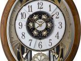 Rhythm Musical Clocks with Movement Joyful Meditation Musical Motion Clock by Rhythm Clocks