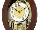 Rhythm Musical Clocks with Movement New Grand Nostalgia Entertainer Musical Magic Motion