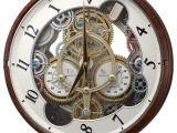 Rhythm Musical Clocks with Movement Widget Musical Motion Clock by Rhythm Clocks