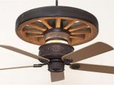 Rustic Wagon Wheel Ceiling Fan Copper Canyon Western Star Wagon Wheel Ceiling Fan