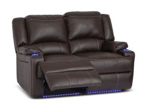 Rv Wall Hugger theater Seating Clay Madison Home theater Seating Row Of 2 sofa Style