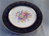 Salem China Company 23 Karat Gold Aristocrat by Salem China Co Six Dinner Plates 23 Karat Gold