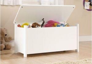 Sauder Beginnings toy Chest soft White soft White Kids toy Chest Wood Box Bin Storage organizer
