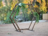 Scaffolding Rental San Diego Wood Geometric Ceremony Arch Rental Wedding Pinterest Wedding