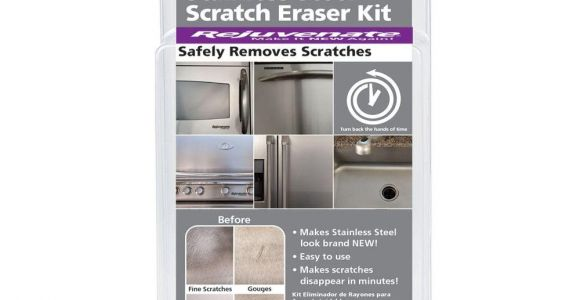 Scratch and Dent Appliances Ct Rejuvenate Stainless Steel Scratch Eraser Kit Rjssrkit the Home Depot