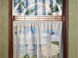 Seashore or Nautical Window Valances Beautiful Nautical Curtains for Shower and Windows