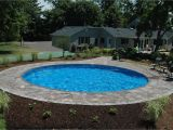 Semi Inground Pools Long island Round Inground Pool Cover the Ultimate Onground is Available In