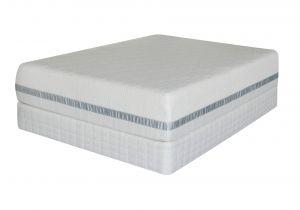 Serta iseries Cool Elegance Serta Roma Premium Memory Foam 10 Mattress Full Bed