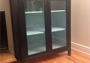 Shot Glass Display Case Ikea Hemnes Linen Cabinet Ikea Refinished and Updated From Yellow to