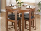Simple Living 5 Piece tobey Compact Round Dining Set Compact Kitchen Table and Chairs Home Design