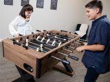 Slaystation Dressing Table top Hathaway Excalibur Foosball Table 54 In Black Walmart Com