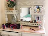 Slaystation Pro Vanity Tabletop Restored An Old Cupboard Into A Vanity Table Live It Vanity