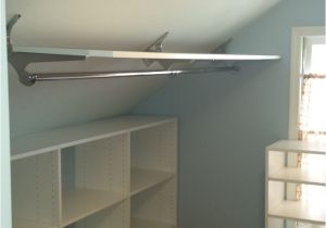 Sloped Ceiling Closet Rod Support Kelis Aguiar Kelisaguiar On Pinterest