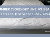 Slumber Cloud Dryline Mattress Protector Review Mattress Protector Reviews Slumber Cloud Dry Line Vs