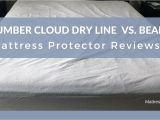 Slumber Cloud Mattress Protector Reviews Mattress Protector Reviews Slumber Cloud Dry Line Vs