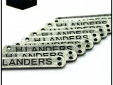 Small Metal Letters for Crafts Uk Small Metal Letters Logo Nameplate Custom for Bags Quality