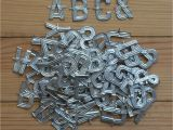 Small Metal Letters for Crafts Uk Vintage Metal Letters Small Florist Alphabet for Crafting