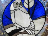Snowy Owl Stained Glass Patterns Stained Glass Snowy Owl Suncatcher Flickr Photo Sharing