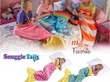 Snuggie Tails Blue Mermaid Snuggie Tails Pink Blue Mermaid soft Cuddly Blanket