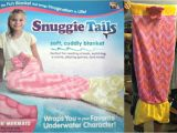 Snuggie Tails Blue Mermaid Snuggie Tails the Blanket that Brings Imagination to Life