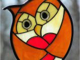 Stained Glass Owl Patterns Golden Stained Glass Love Owl Flickr Photo Sharing