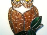 Stained Glass Owl Suncatcher Patterns 142 Best Images About Stained Glass Owls Eagles On