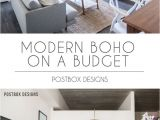 Studio 7 Living Spaces See the Reveal Modern Boho Dining Room Makeover Home Decor