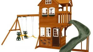 Summerstone Cedar Summit Playset Backyard Playground and Swing Sets Ideas Backyard Play