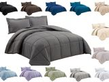 Super Fluffy Down Alternative Comforter Chezmoi Collection Super soft Down Alternative Comforter