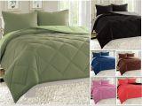 Super Fluffy Down Alternative Comforter Reversible Comforter Set Down Alternative 3 Piece Bedding