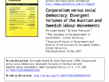 Swedish Employee Self Service Pdf Changes In Swedish Labour Immigration Policy A Slight Revolution