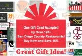Synergy Gift Card Restaurant List San Diego Synergy Gift Card Lamoureph Blog