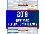 Tag Sale Companies Westchester Ny Amazon Com 2019 New York State and Federal Labor Laws Poster