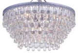 Teardrop Crystals Chandelier Parts Amazon Com Wesley Crystal 6 Light Chandelier with Clear Teardrop