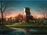 Terry Redlin Art Prints for Sale Terry Redlin Above the Fruited Plain S N Ltded Print Ebay