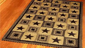 Texas Lone Star area Rug Ihf Home Decor Rectangle area Accent Braided Jute Rug 5 X 8